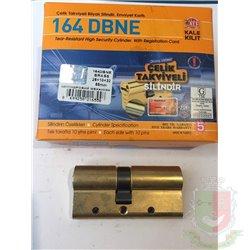 Цилиндровый механизм Kale 164 DBNE 68 (26*10*32 ) защита от перелома