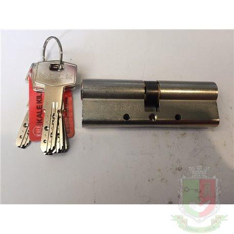 Цилиндровый механизм Kale 164 DBNE 80 (35*10*35 ) защита от перелома