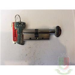 Цилиндровый механизм Kale 164 DBME 90 mm (40+10+40) ключ вертушка с защитой от разрыва