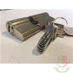 Цилиндровый механизм Kale 164 BNE  / 90  30+10+50 для китайской двери