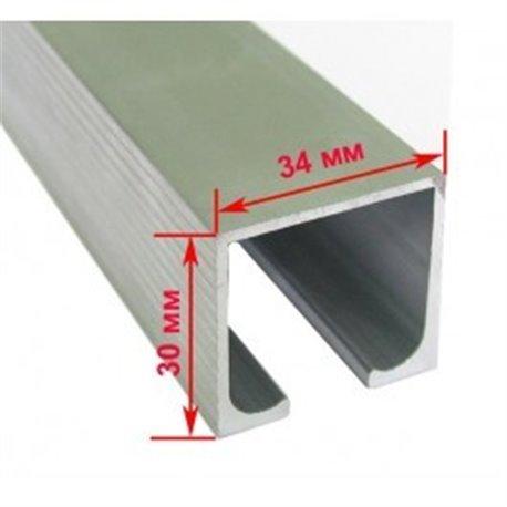 Профиль верхний EKF 120101-02 (2 м - 80 кг)